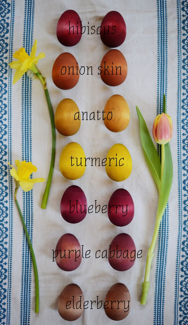 Happy Spring! Here's a little how-to guide for dyeing vegan friendly wooden  eggs with homemade natural dyes. Enjoy!