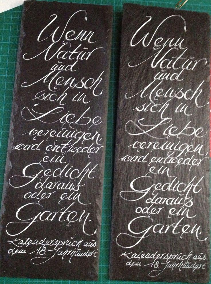 Simple K nstlerisches Ausdrucksmittel ist meine eigene unverwechselbare Handschrift Mit Feder und Tinte gestalte ich f r