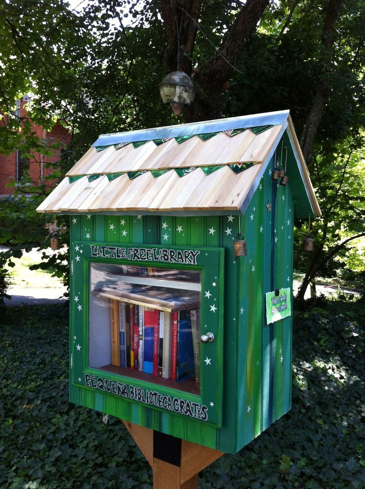 17 Best Images About Little Free Libraries On Pinterest