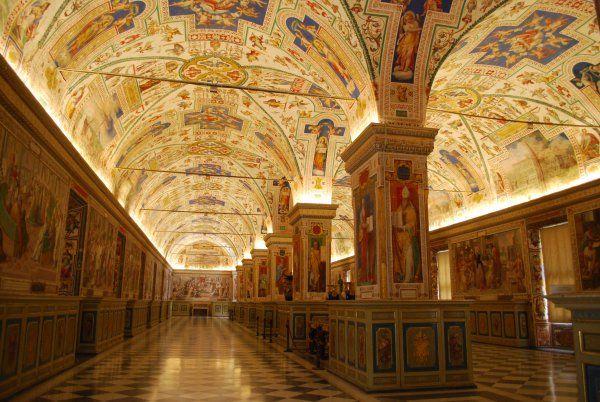 Italy, Rome, Vatican Museum.