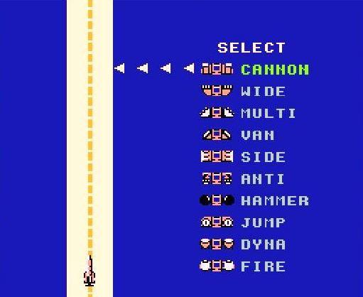 NES B-Wings