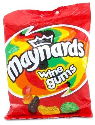 Maynards Wine gums http://www.englishteastore.com/mawi21bag.html