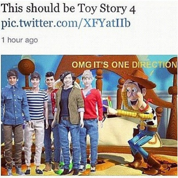 YES. My two favorite things mixed together! Disney and One Direction!