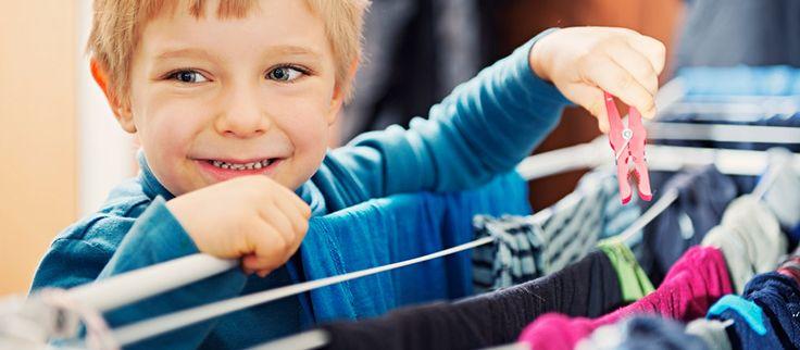 Faire participer les enfants aux tâches ménagères