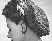 1940 Fácil Baixada Crochet Vintage Pattern PDF 359