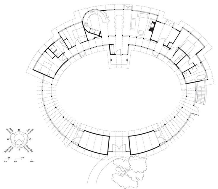 167 best house plans images on pinterest floor plans for Circular house floor plans