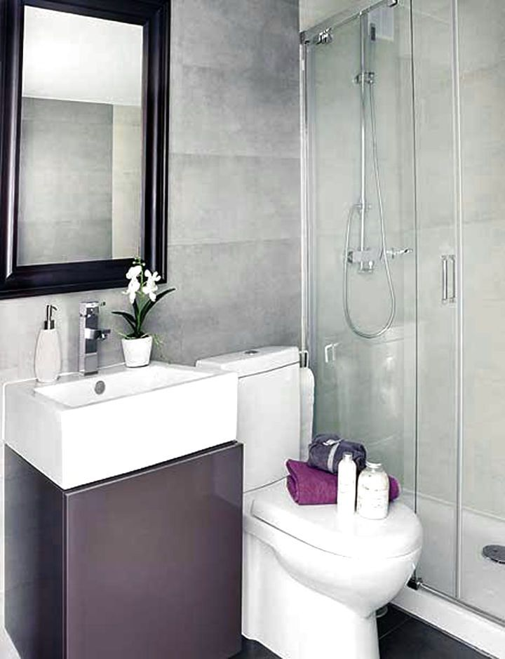 WHITE SMALL APARTMENT BATHROOM INTERIOR IDEAS - http://www.homedesignstyler.com/white-small-apartment-bathroom-interior-ideas/