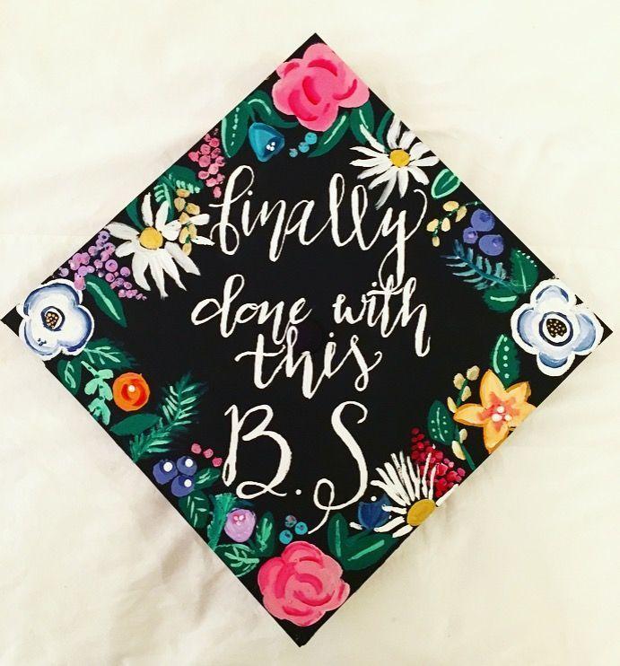 Bachelor of science graduation cap. #publicrelationsgraduationcap #bachelorsdegree
