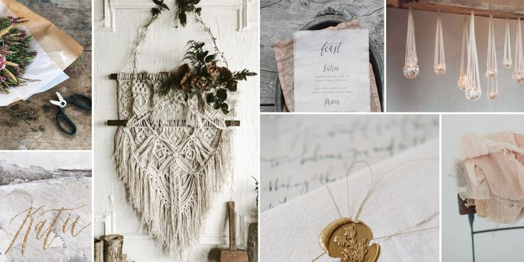 This month' s styleboard is all about natural materials with a strong textural…
