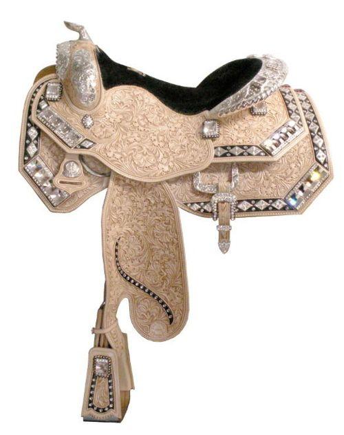 Absolutely stunning Harris Show saddle