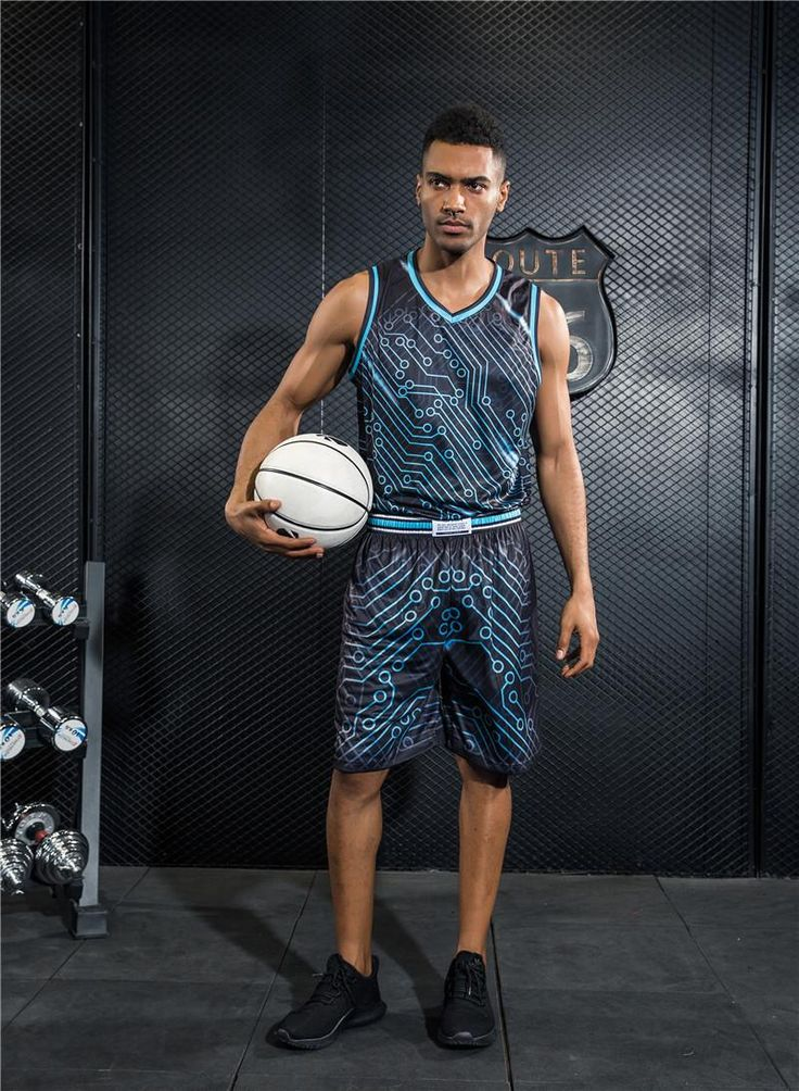 [Visit to Buy] Jump star breathable breathable basketball suit men and women's basketball team uniforms basketball clothes wholesale #Advertisement
