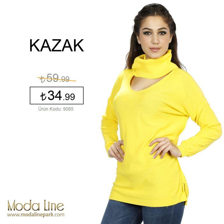 Tüm zamanların favorisi #kazaklar müthiş indirimlerle şimdi modalinepark.com'da!