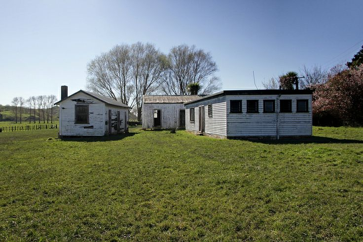 Old shearers' quarters, Tolaga Bay, Gisborne, New Zealand