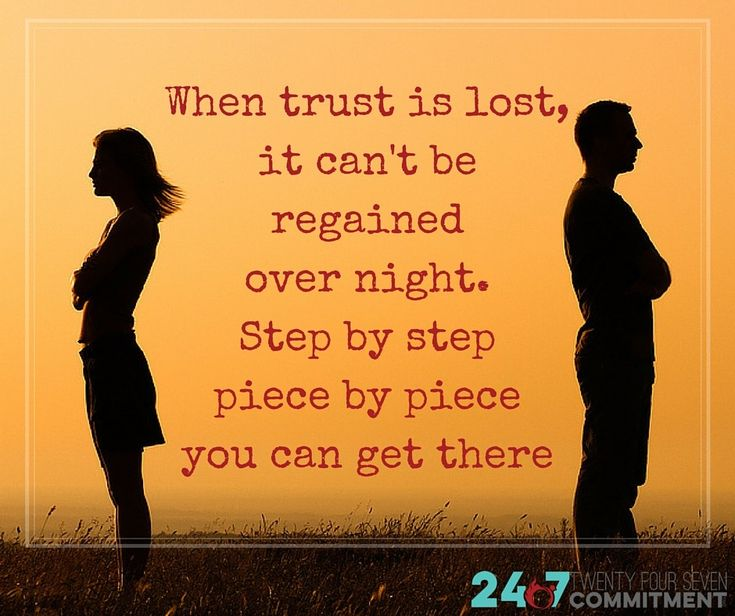 how do you rebuild broken trust in a relationship