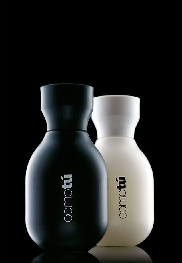 Lavernia & Cienfuegos Design, based in Valencia, Spain, specializes in both graphic and industrial design, so they'reable to create both the bottle and the logo for products like Comotú, a fragrance line for men and women.