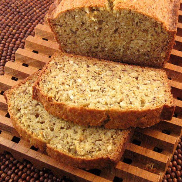 Tropical Banana Bread Recipe Recipes Coconut Recipes Easy Food Dishes
