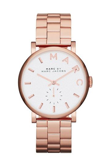 MARC JACOBS 'Baker' Bracelet Watch, 37mm available at #Nordstrom