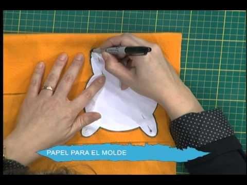 Porta vasos - Gatito - YouTube
