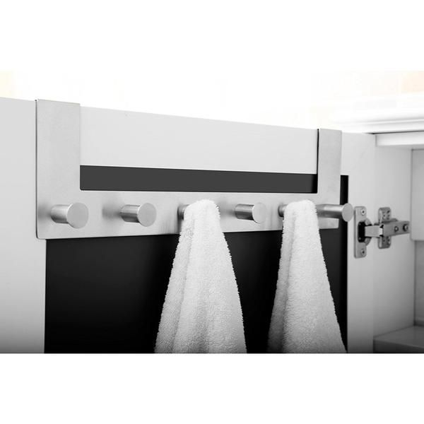 Exklusiver Handtuchhalter Aus Edelstahl Geburstet Mit Asthetischem Design Verwendbar Als Badetuchhaken Badetuchhalter Bade Handtuchhalter Tuch Halte Durch