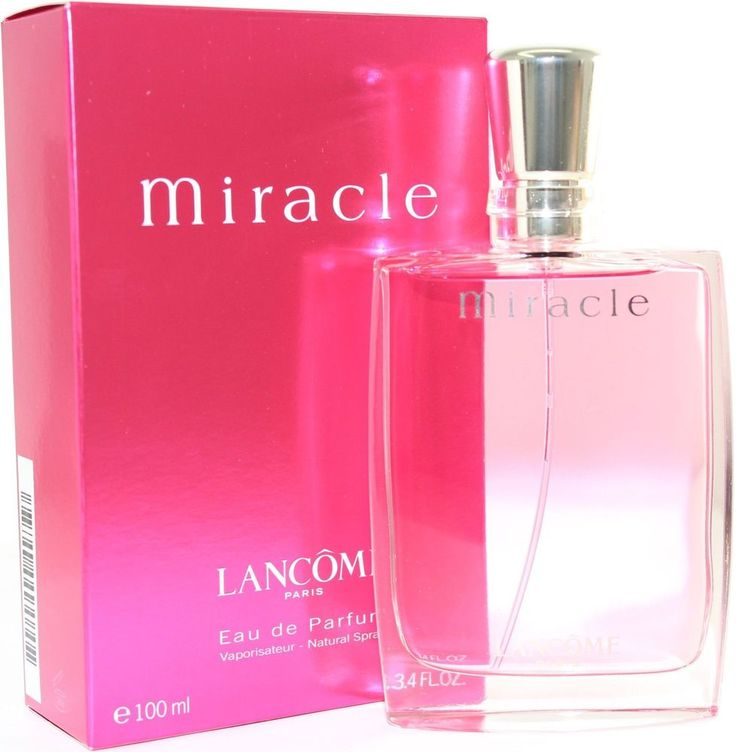 MIRACLE by Lancome 3.4 oz / 100 ml EDP Spray Perfume for Women New in Box #Lancme