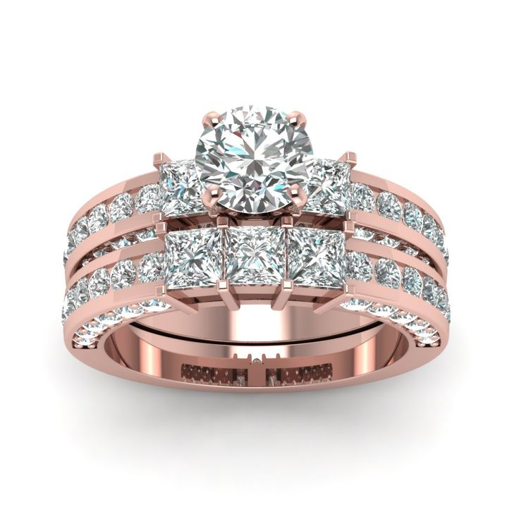 Trending Expensive Engagement Rings with White Diamond in K Rose Gold Carat Diamond Ring