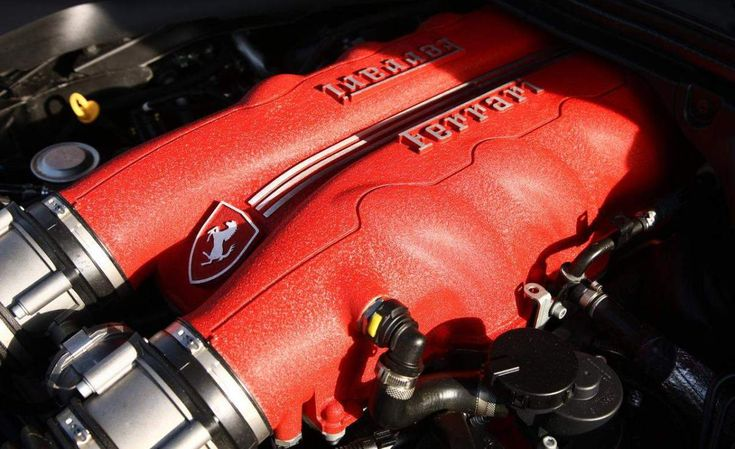 Ferrari California engine #14