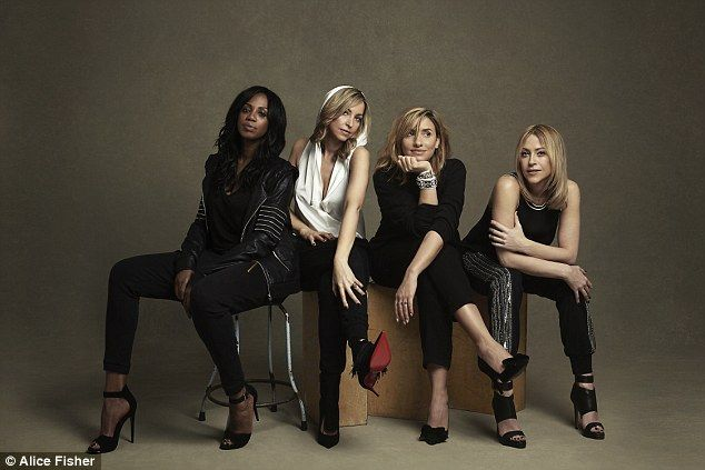 Reunited: (From left) Shaznay Lewis, Natalie Appleton, Melanie Blatt, and Nicole Appleton as All Saints for comeback single and album in 2016