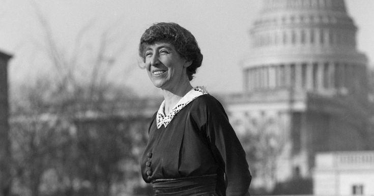 HAS ANYTHING CHANGED FOR FEMALE POLITICIANS? Familiar echoes in the candidacy of Jeannette Rankin, the first woman elected to Congress.