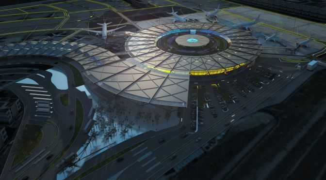 Ground Breaking for Lyon-Saint Exupéry Airport Terminal 1 by RSHP