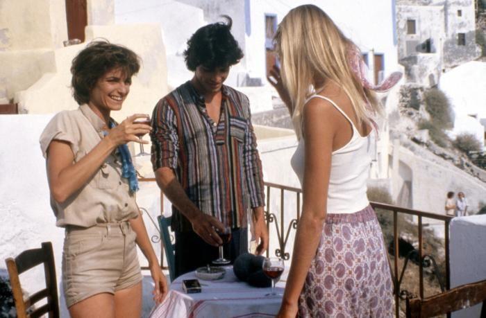 Valerie Quennessen Summer Lovers | SUMMER LOVERS, Valerie Quennessen, Peter Gallagher, Daryl Hannah, 1982 ...
