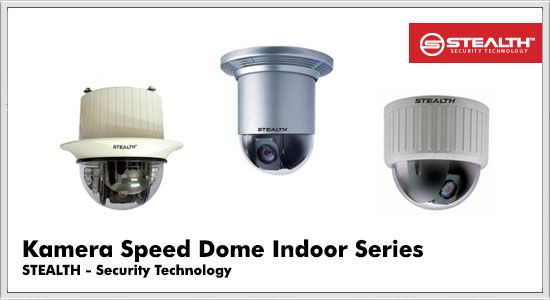 Kamera Speed Dome Indoor Series Stealth CCTV