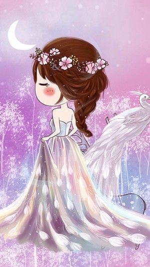 小薇的世界光。小薇精灵公主。插画。壁纸。头像。 - 堆糖 发现生活_收集美好_分享图片
