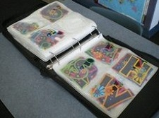 VINYL LETTER ORGANIZATION: take some time to separate out all the piles of loose stick-on sheets of letters and numbers that you have, and store them in CD holders in a binder. Also good for separating out letters for the bulletin board!