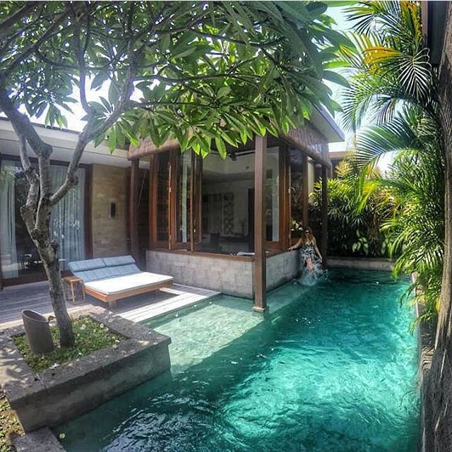 Operation FitBuzzer weekend destination... @theelysianbali ☀️ Good morning #hotel #travel #vacation #holiday #bali
