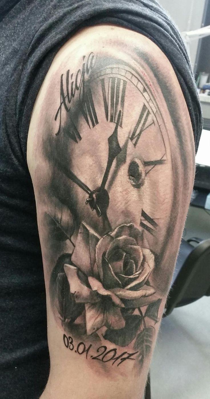 Best 25 clock tattoos ideas on pinterest clock tattoo for Revival tattoo and piercing