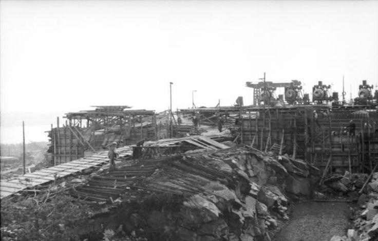Bau von Befestigungsanlage - Norwegen 1943
