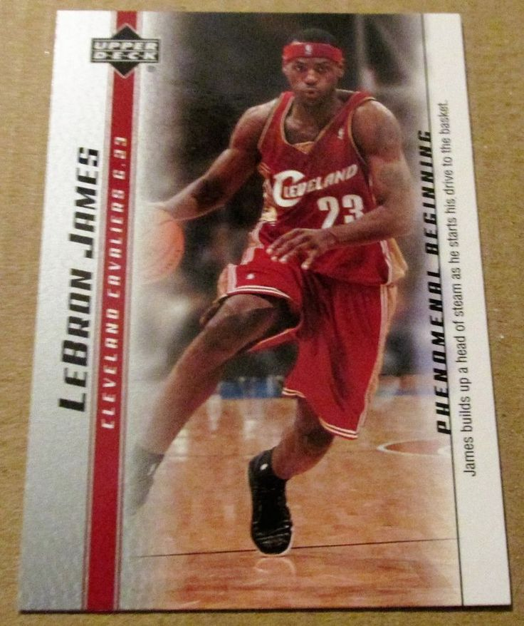 2003-04 UPPER DECK LeBRON JAMES ROOKIE CARD #11 #ClevelandCavaliers