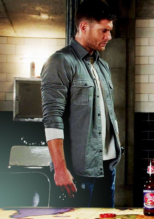 """We are so terrified as a fandom right now because our Supernatural world has been turned upside down by the writers. We have known Dean as the one to do the right thing, but now, as Jensen says, his moral compass is gone. He's killing people without a thought, becoming so dark. Sam usually looked up to his big brother, but now he keeps things """"strictly business."""" Now, everything about these boys is completely backwards and we are terrified. Oh, and by the way, where the f-ck is Cas?! #SPN"""