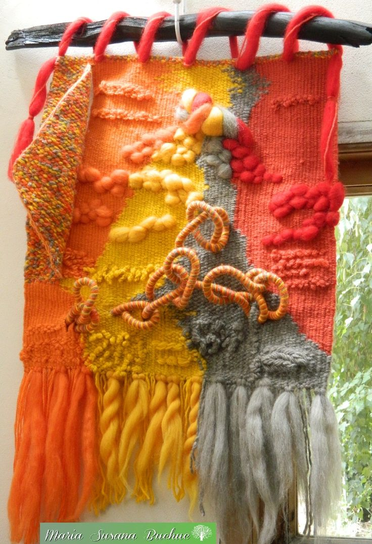 Textil Art / Tapices Artesanales en Técnica Alto Liso por María S. Buchuc
