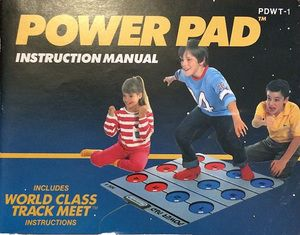 Power Pad & World Class Track Meet - NES Manual