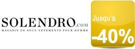 Les sous-vêtements pour homme de grandes marques soldés jusqu'à -30% chez Solendro
