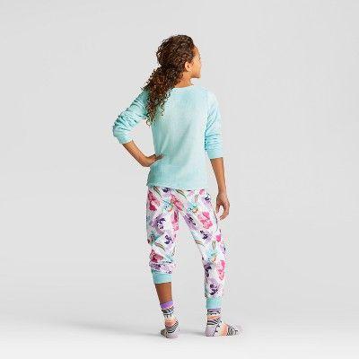 Girls' Hasbro My Little Pony Set With Gift Bag Pajama Set - Blue, Size: Large