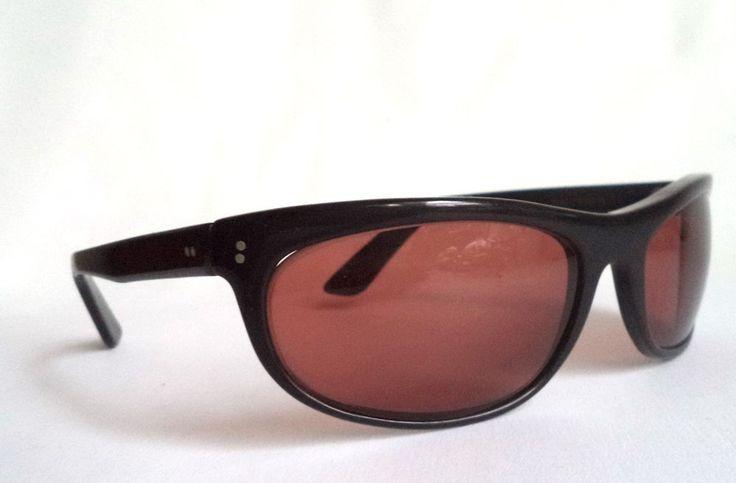 Ray Ban Balorama Sunglasses Vintage Black Wrap Eastwood B&L 60s Unisex glasses