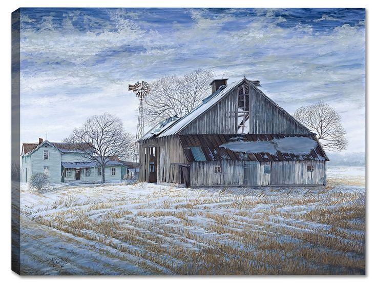 Abandoned Barn - Weatherprint