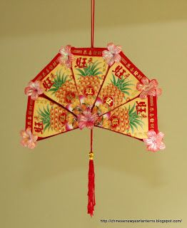 Chinese new year lanterns how to make an ang pow for Ang pow decoration