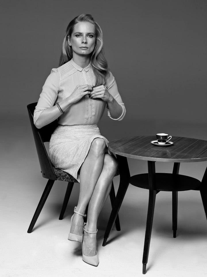Magdalena Cielecka dla magazynu Smak, 2013.