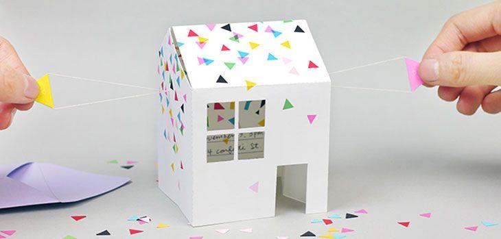 Invitaciones caseras para fiestas infantiles (como cumpleaños o comuniones) con plantillas para descargar e imprimir gratis. Todas DIY, bonitas y originales