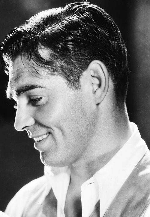 A very young Clark Gable, 1932.