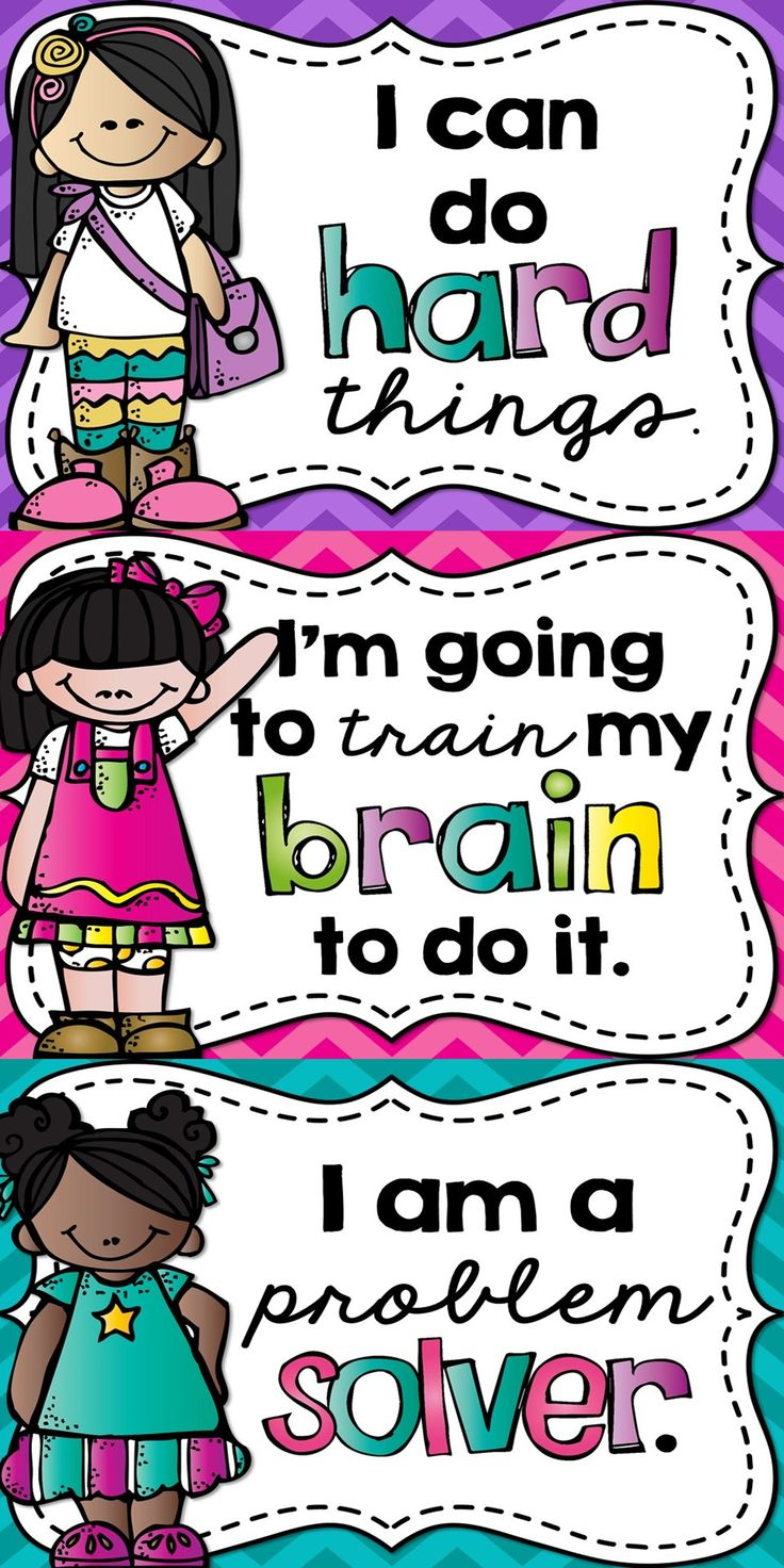 A Growth Mindset is something that can be taught! Encourage a Growth Mindset in your classroom by hanging up these posters for your students to see!