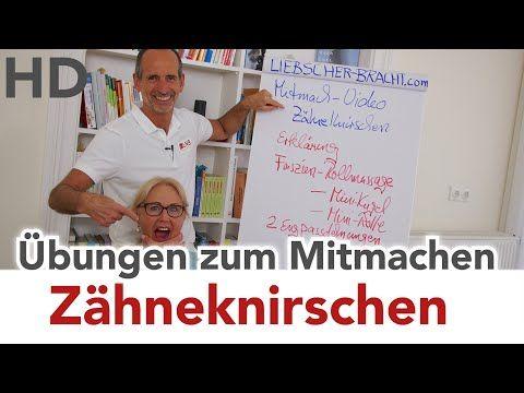 Zähneknirschen (Bruxismus) // Übungen zum Mitmachen // Zahnschmerzen, Ohrenschmerzen - YouTube